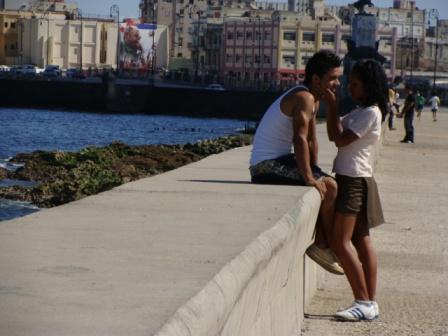 Havana's Malecon Seawall.  Photo: Ana Maria Gonzalez