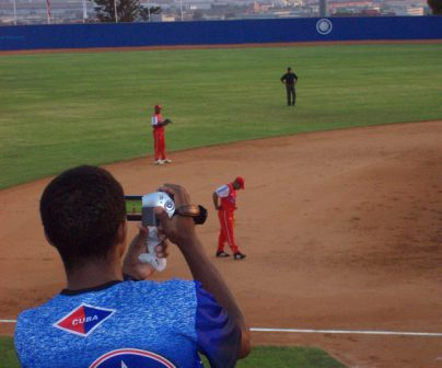 """Cuba-Puerto Rico game at 2009 World Cup Baseball Championships in Barcelona, Spain. That was why as soon as I learned that Cuba would play in Barcelona as part of group B of the World Baseball Cup, I didn't doubt for a second to tell my wife """"honey, we have to get tickets for a ball game"""""""