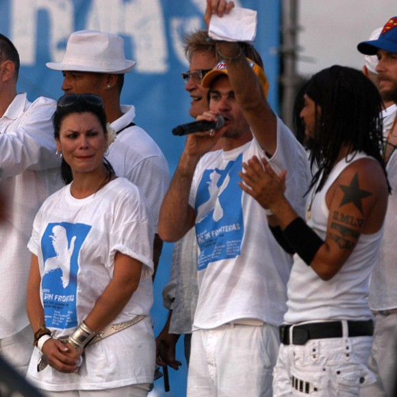 Olga Tanon, Juanes, and X Alfronso, photo: Cuba News Agency