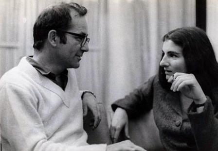 Argentine journalist Rodolfo Walsh and Margaret Randall, Havana 1968.