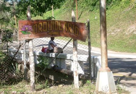 Entrance to the Soroa Orchid Garden in Pinar del Rio, Cuba, photo: welovepandas