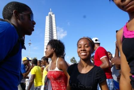 Cuban young people are expected in big numbers at the September 20th afternoon free concert.  Photo: Elio Delgado