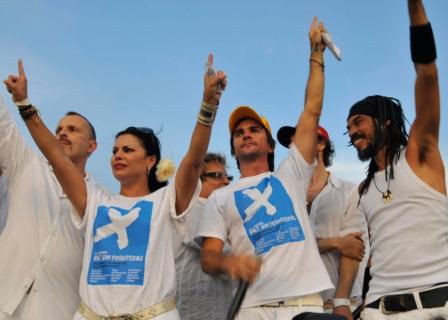 Peace without Borders concert, Havana, Cuba, Sept. 20, 2009