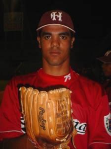 Miguel Alfredo Gonzalez pitches in Cuban baseball for last season's league champions Havana Province.