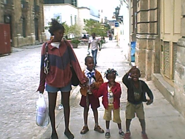 Amnesty International states that Cuban children have been victims of hte US embargo on Cuba.  Photo: Glenn Ellis