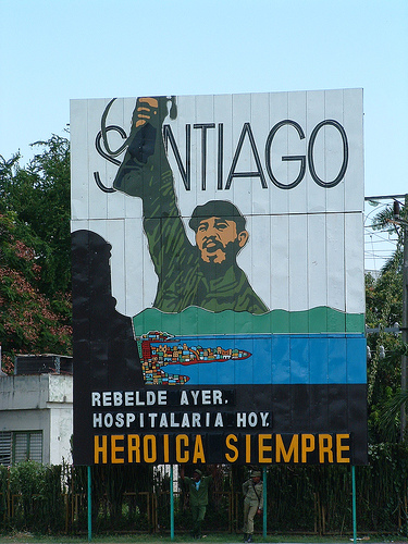 Santiago de Cuba: Rebel yesterday, hospitable today, heroic forever-- Photo: Miss Mass