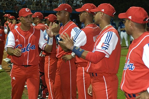 The Cuban Team has new uniforms for the World Cup.