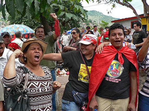 Tegucigalpa, Honduras, Oct. 9, 2009, Photo: Giorgio Trucchi, rel-uita