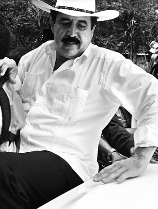 Manuel Zelaya, photo: Delmer Membreño