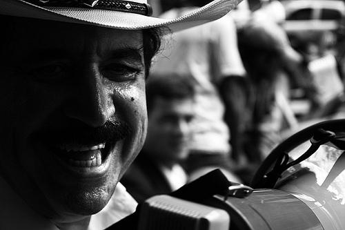 Honduran President Manuel Zelaya.  Photo: Delmer Membreño, Flickr