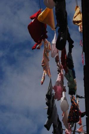 Clothes line, photo: Caridad