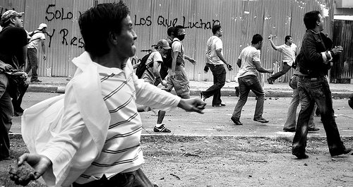 The Battle of Honduras continues after nearly four months of conflict.  Photo: Delmer Membreño