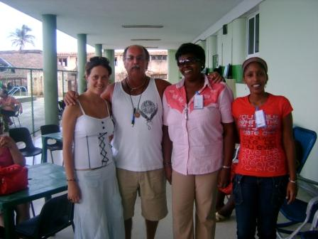 Group of philosophy teachers from the university in Cienfuegos who attended the social justice conference.