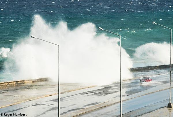Havana during a storm. Photo Roger Humert