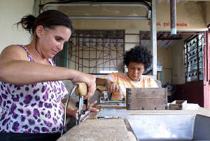 Cuba is trying to boost its food processing industries.  Photo: Elio Delgado
