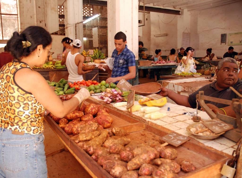 Market Vendor.  Photo: Caridad