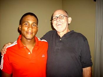 Alfredo Despaigne with Peter C. Bjarkman