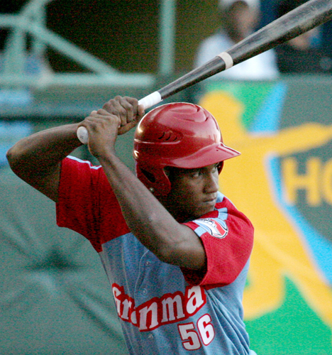 Granma's Alfredo Despaigne, (last season's league home run leader) continues to pummel opposition pitching.  Last week he hit .478 with 11 hits including three doubles and four home runs and 10 RBIs while scoring eight times.