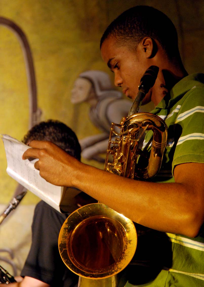 Denis Carbon readies for JoJazz Competition