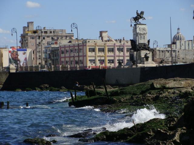 Along Havana's Malecon Seawall.  Photo: Ana Maria Gonzalez