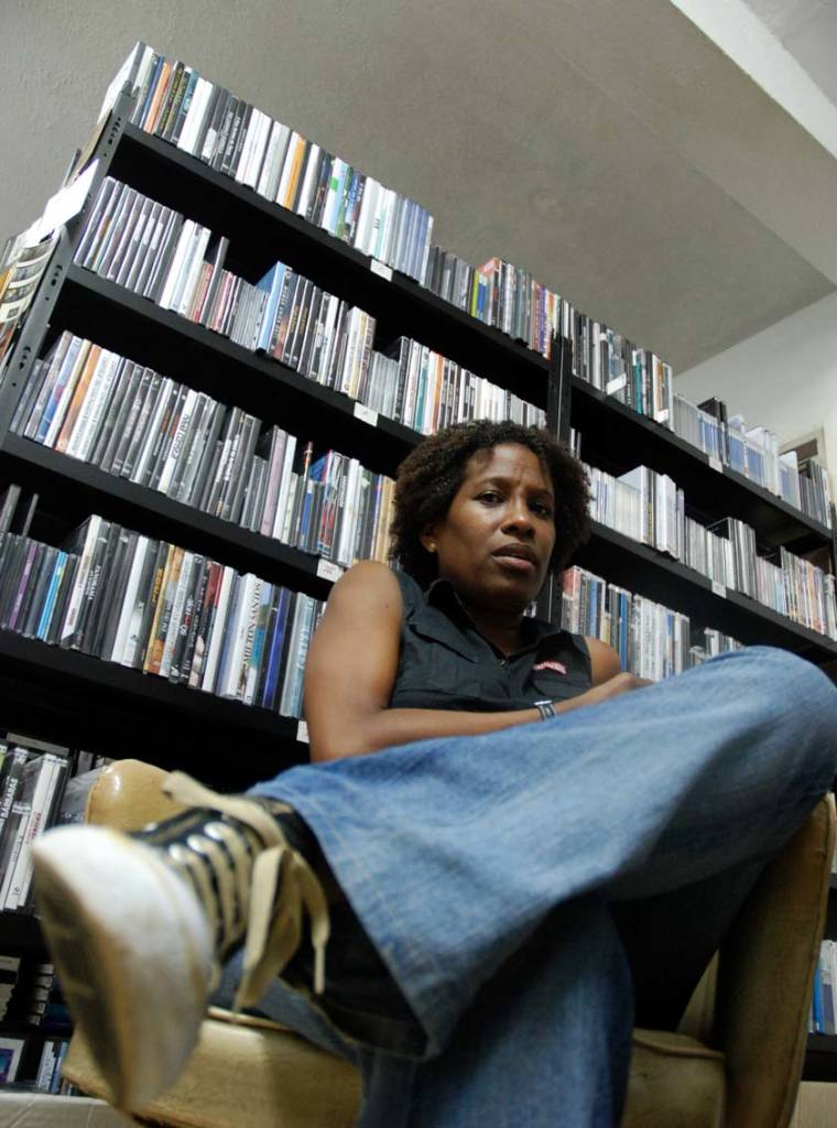 """""""We're trying to set up a library, a newspaper and periodicals library, and a video library on the Festival.""""  Photo: Caridad"""