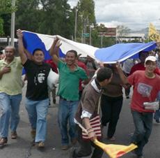 Honduras two days before the de facto government holds elections.  Photo: Giorgio Trucchi,  rel-UITA
