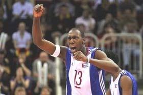 Team Cuba captain, Robertlandy Simon.