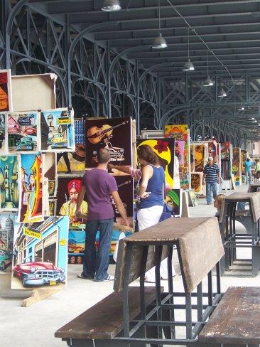 New local of the Havana Handicrafts Fair