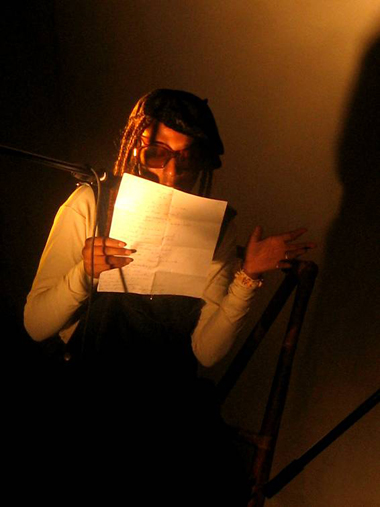 OMNI poetry workshop reading