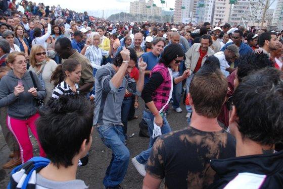 Kool & the Gang Concert, Havana, Cuba, 12-20-2009