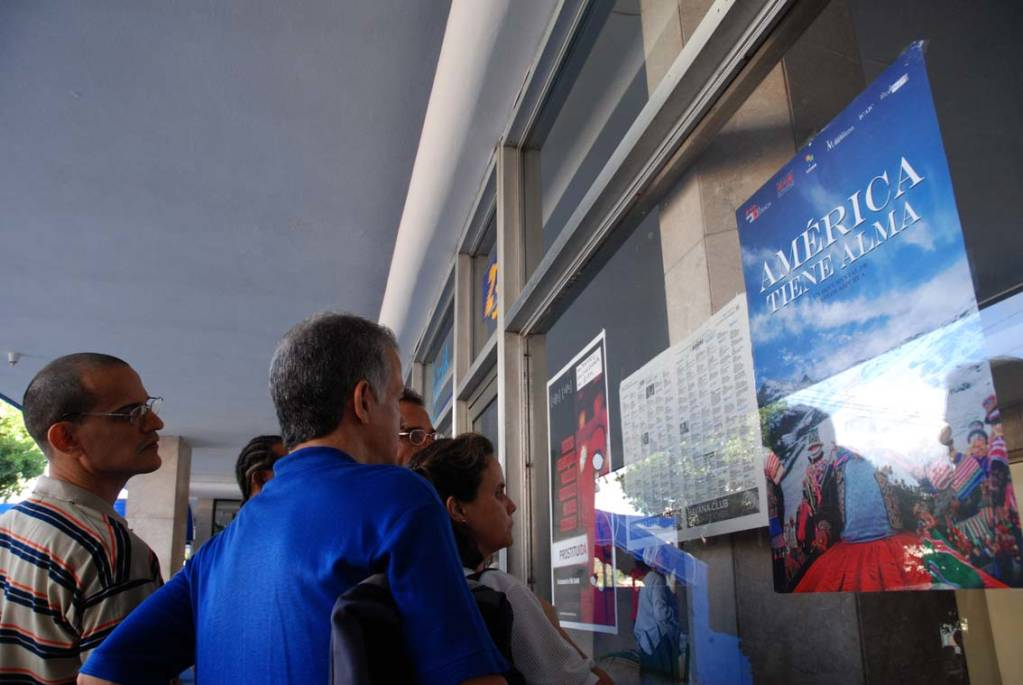 The winning films get another showing on Sunday. Photo: Caridad