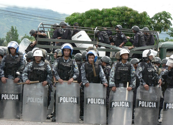 When push came to shove the Obama administration backed the military coup in Honduras.  Photo: Giorgio Trucchi, rel-UITA