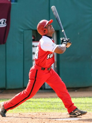 Alexei Bell leads the league in batting and hit two grand slams in the season opener.