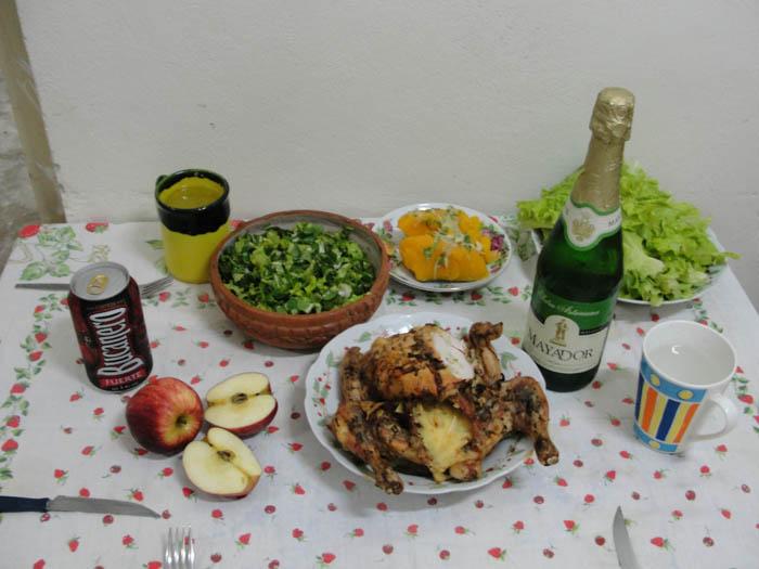 New Years dinner.
