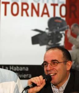 Giusseppe Tornatore in Cuba