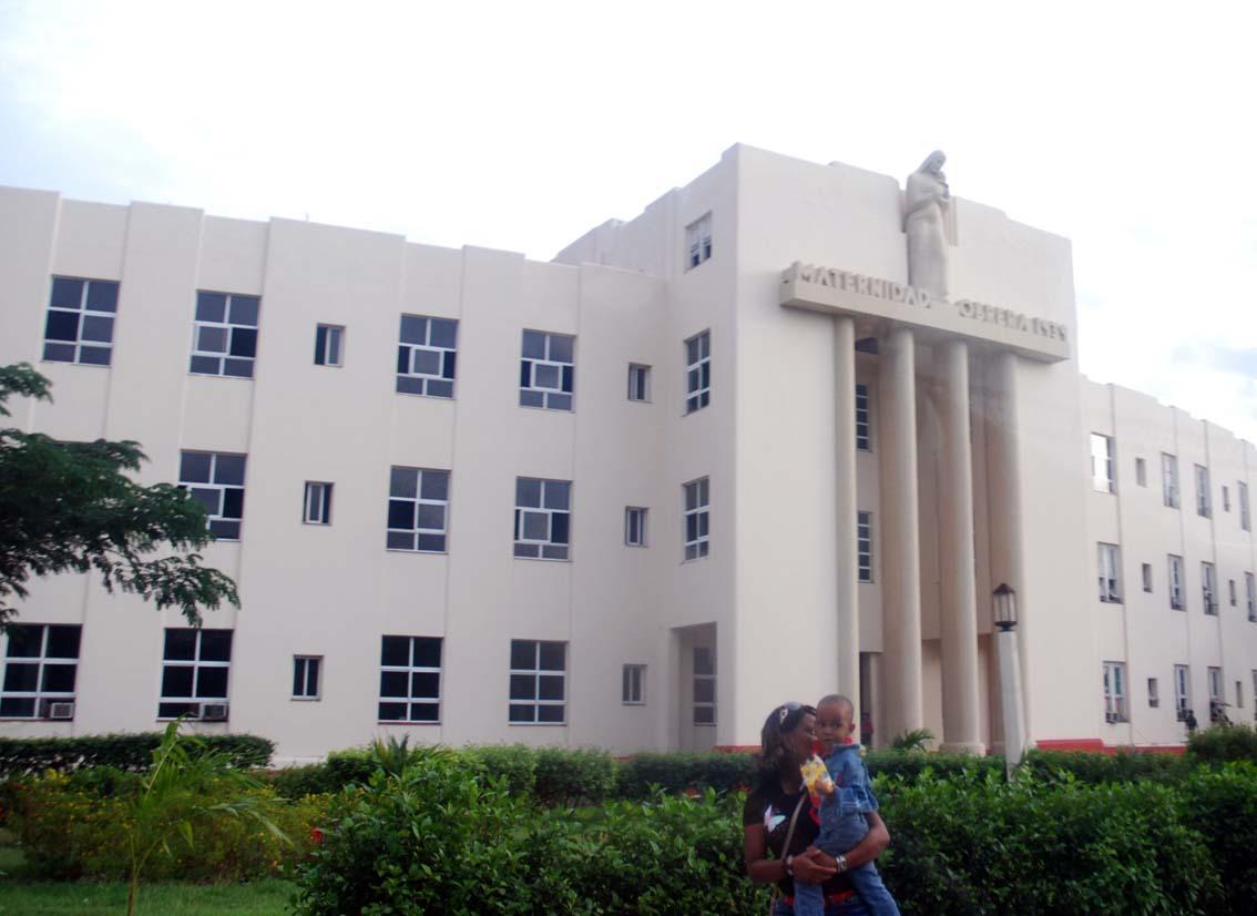 Havana Maternity Hospital.  Photo: Caridad