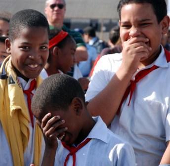 Cuban grade school kids.  Photo: Caridad