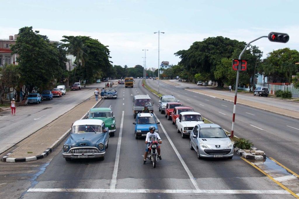 Havana avenue. Photo: Juan Suarez