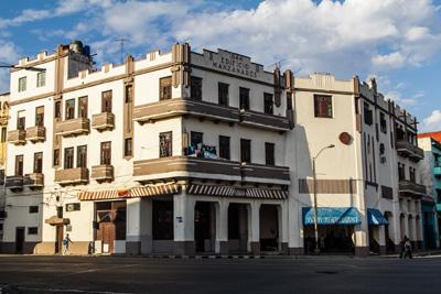 Havana's Manzanares building.  Photo: Juan  Suarez