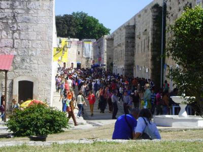 The Cuba Book Fair.  Photo: Juan Suarez