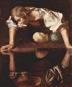 Narcissus (Caravaggio). wikipedia.org
