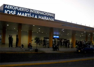 One of the Terminals of the Jose Marti International Airport in Havana.  Photo: Caridad