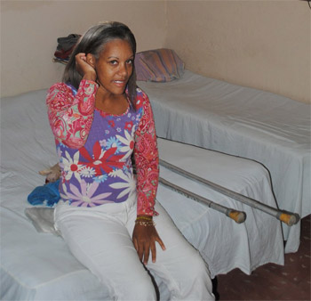 Girl Wearing Pampers