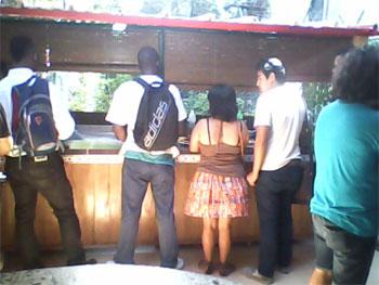 The Doña Laura cafeteria in Vedado, Havana.