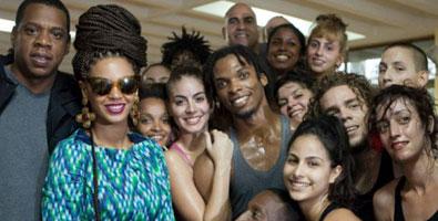 Beyonce con danza contemporanea