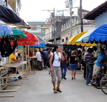 The La Candonga market in Sancti Spiritus