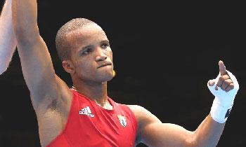 Roniel Iglesias won a gold medal for Cuba at London 2012. Photo: cubahora.cu