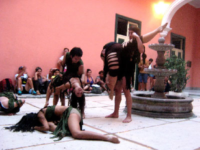 """Cyma dancers performing """"At World's End"""""""