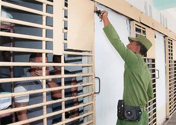 Cuba allows foreign media to visit prisons and talk with prisoners. Photo: Raquel Perez