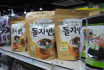 Korean snacks.